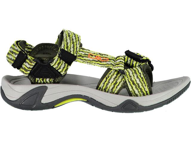 CMP Campagnolo Hamal Sandalias de senderismo Niños, negro/amarillo